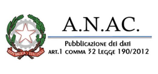 Pubblicazione dei dati ai sensi dell'art.1 comma 32 Legge n.190/2012